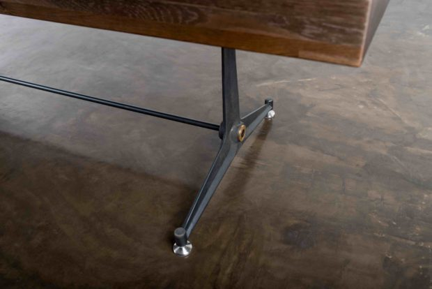 Contemporary Shuffleboard Table leg