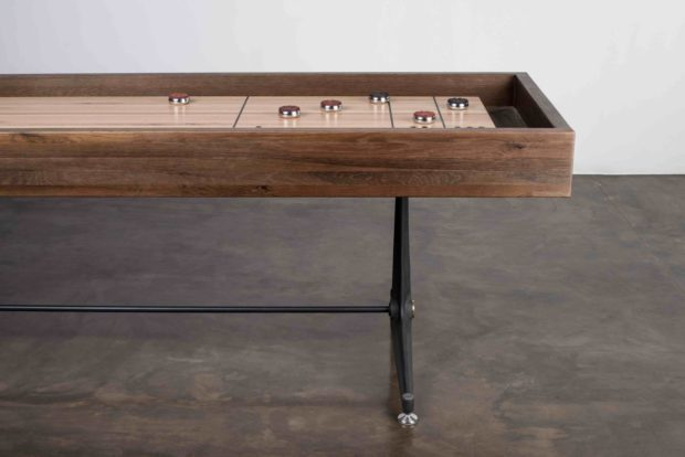 Contemporary Shuffleboard Table detail 1