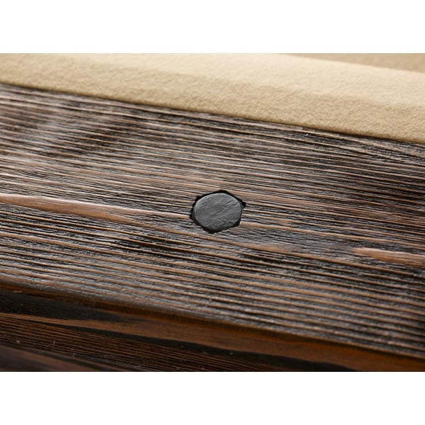 Plank and Hide Thomas Pool Table rail