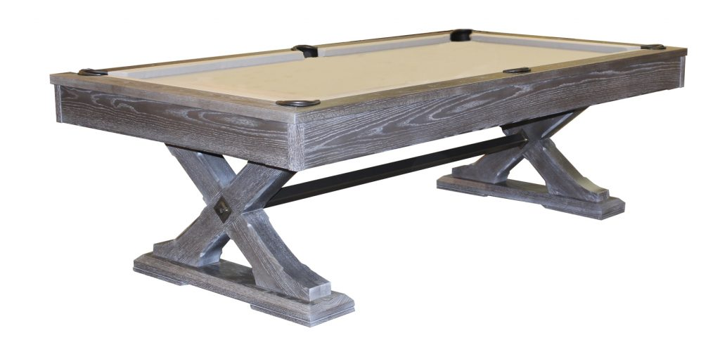 olhausen tustin pool table weathered oak stock