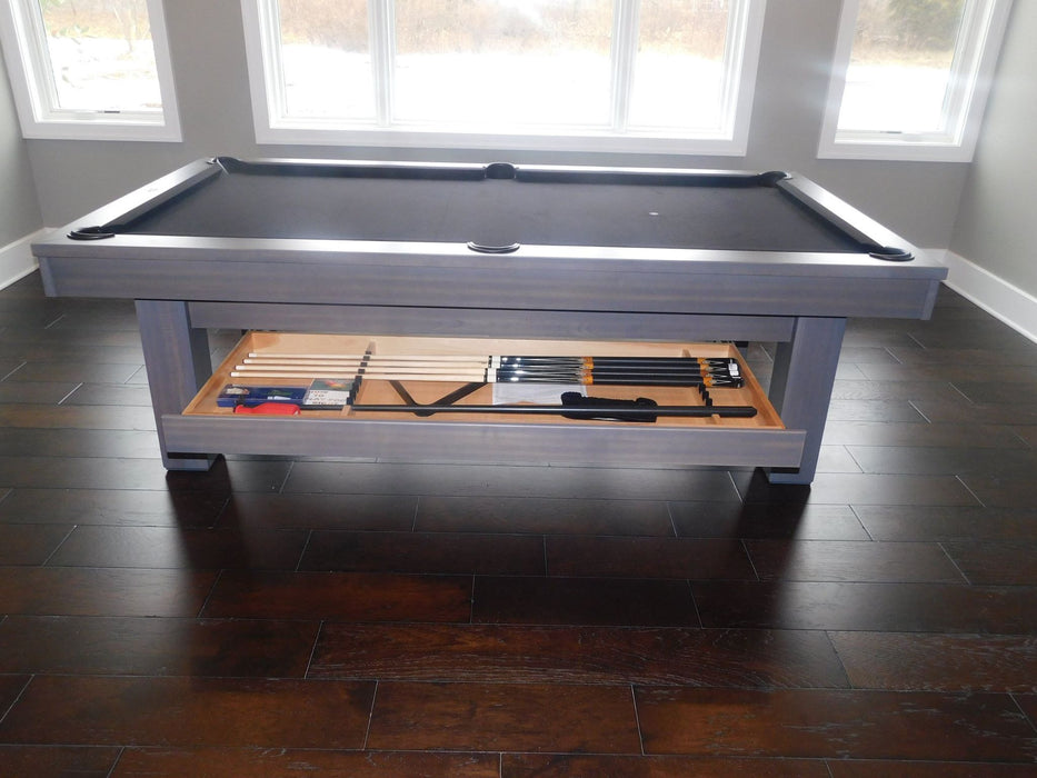 Olhausen West End Pool Table drawer side view