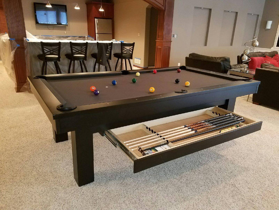 Olhausen West End Pool Table black with drawer