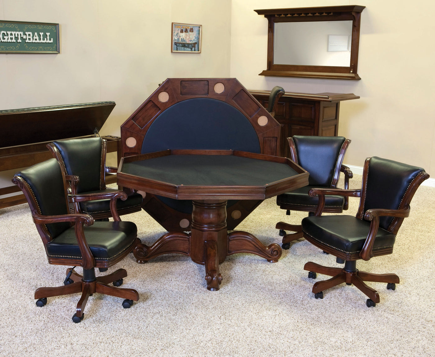 Beautiful C.L. Bailey Winslow Dining Game Table Set