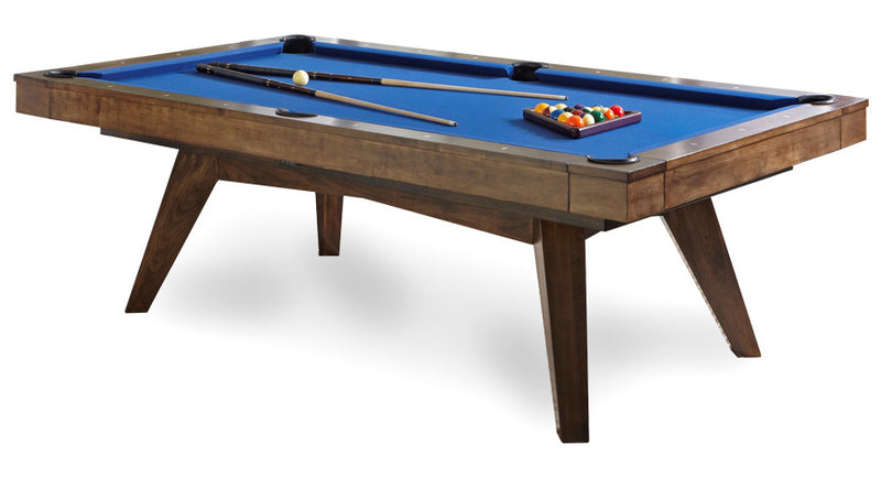 California House Austin Pool Table Distressed and Glazed Heritage finish2