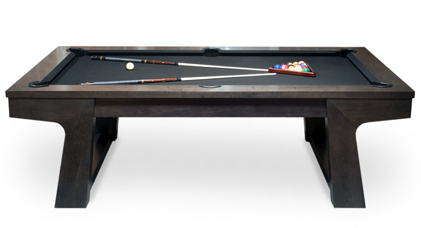 California House Bainbridge Pool Table driftwood side