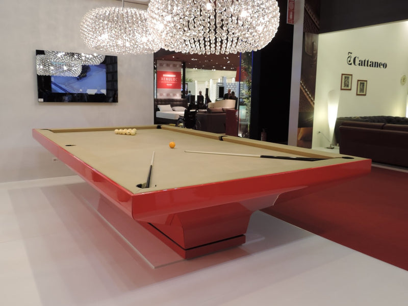 MBM Biliardi B_ig Pool Table Red room pic1