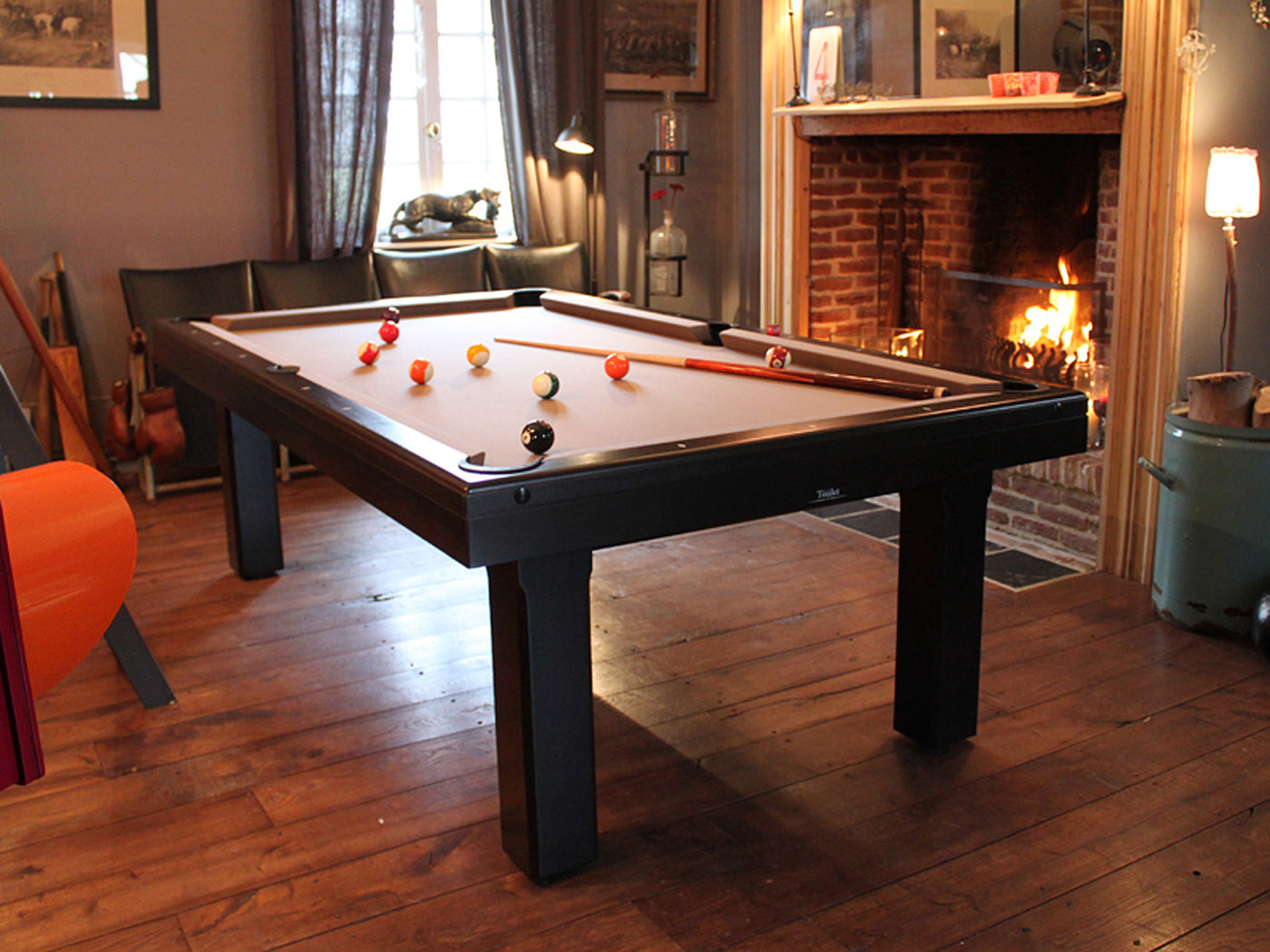 billard toulet bubbly dining pool table robbies billiards. Black Bedroom Furniture Sets. Home Design Ideas