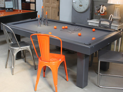 billard toulet bubbly pool table grey