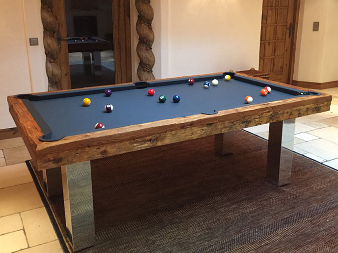 Billard Toulet Megeve Dining Pool Table Robbies Billiards