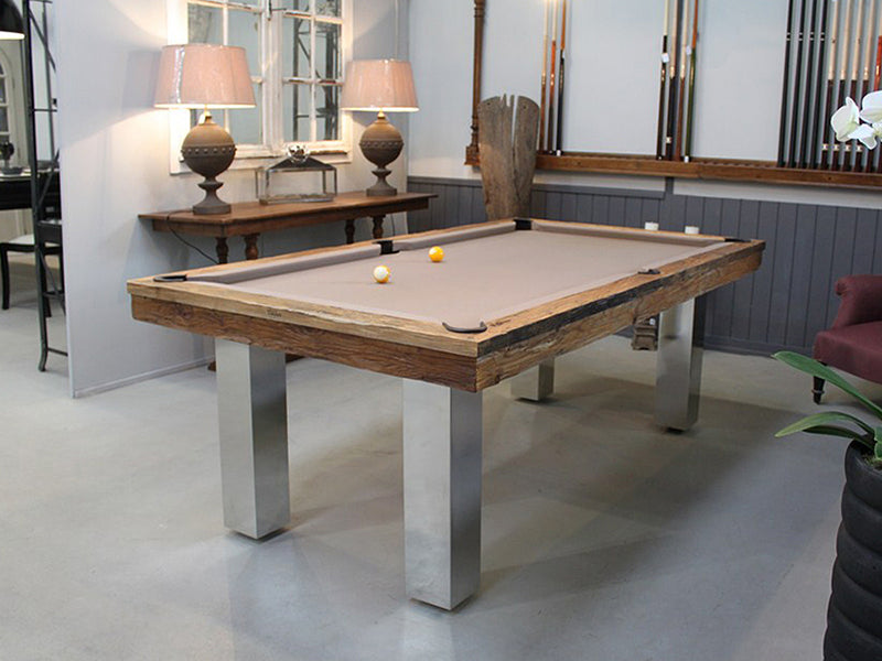 billard toulet megeve dining pool table