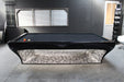 billard toulet luxury pool table side view