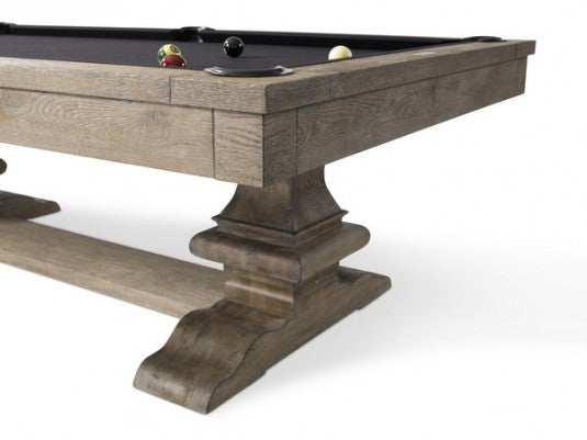 Plank and Hide Beaumont Pool Table end