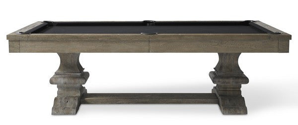 Plank and Hide Beaumont Pool Table side