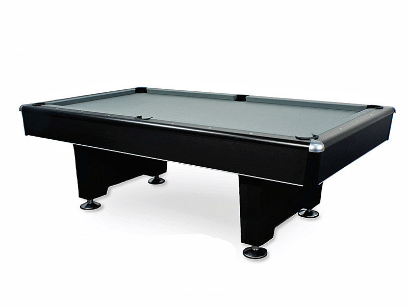 black diamond pool table stock