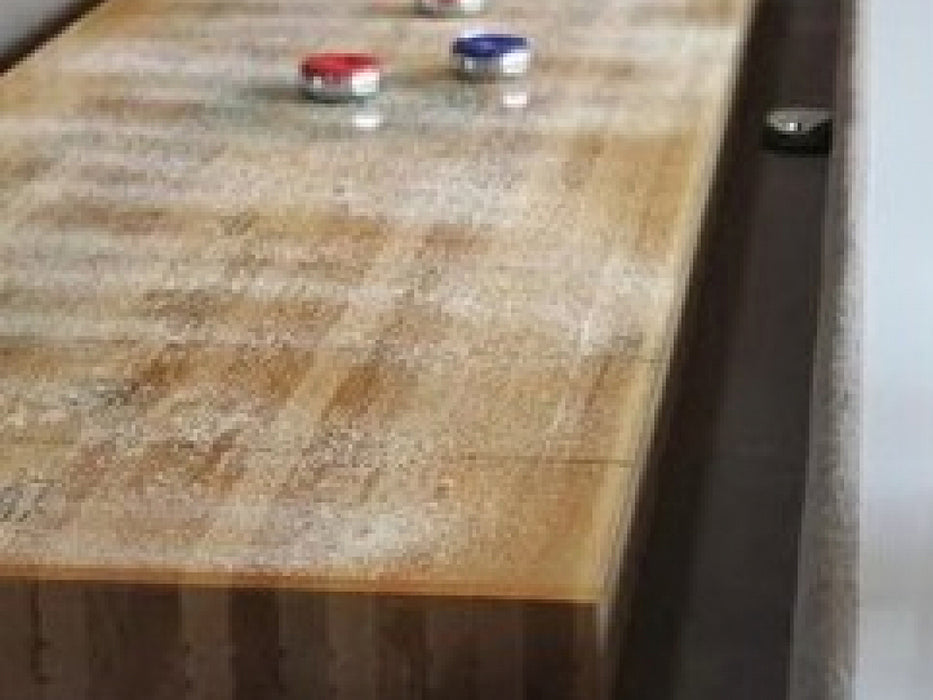 black light shuffleboard table play surface