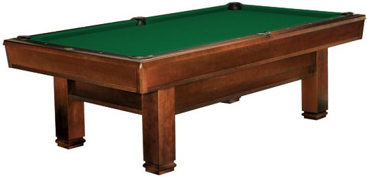 Brunswick Bridgeport pool table chestnut