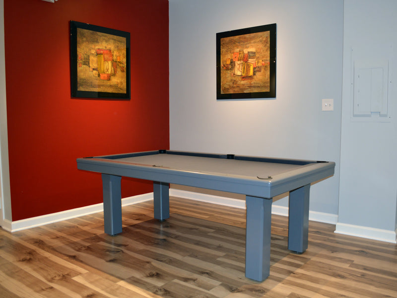 Floor Model Billard Toulet Broadway Dining Pool Table