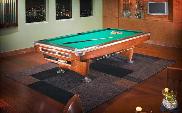 Brunswick Gold Crown V Pool Table home