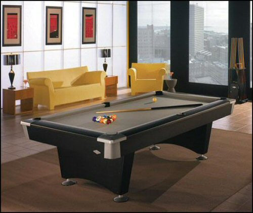 Brunswick Contender Black Wolf pool table