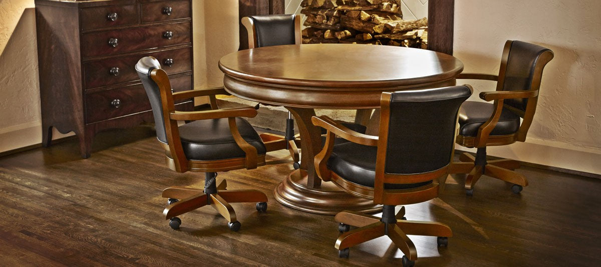 Brunswick Centennial Game Table chestnut room stock