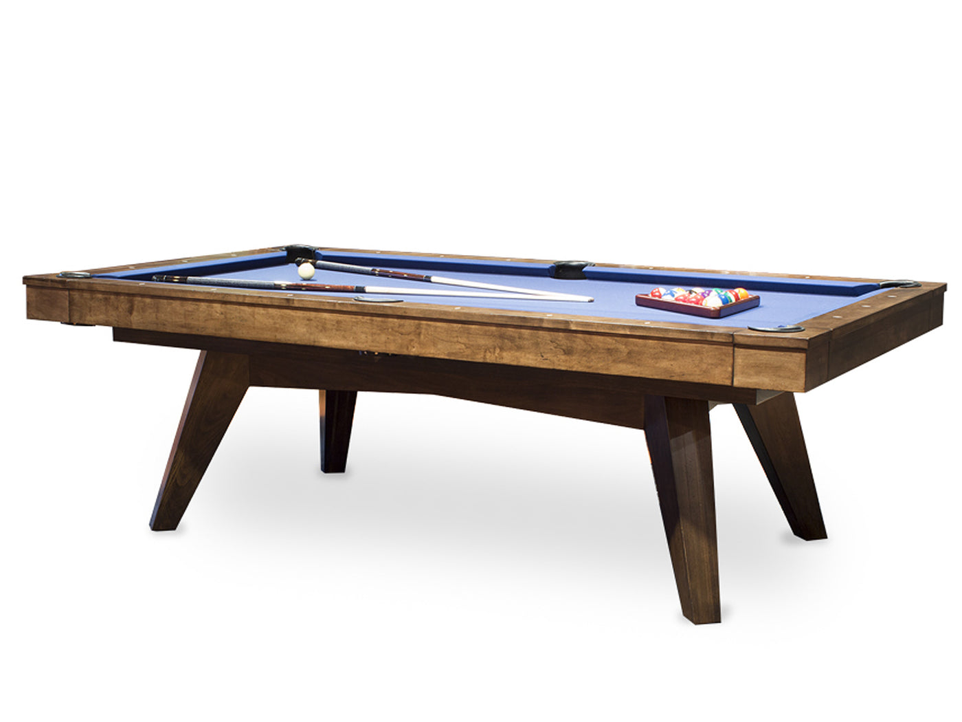 Great California House Austin Pool Table Distressed And Glazed Heritage Finish ...