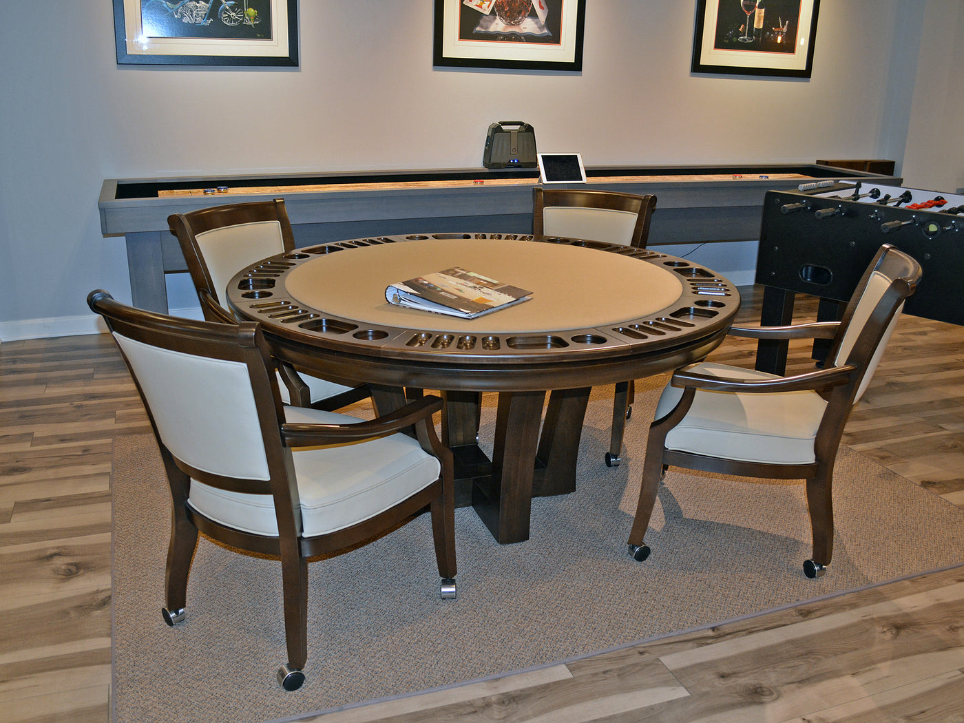 ... California House City Game Table Set ...