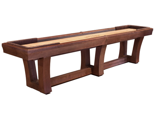California House City Shuffleboard Table stock