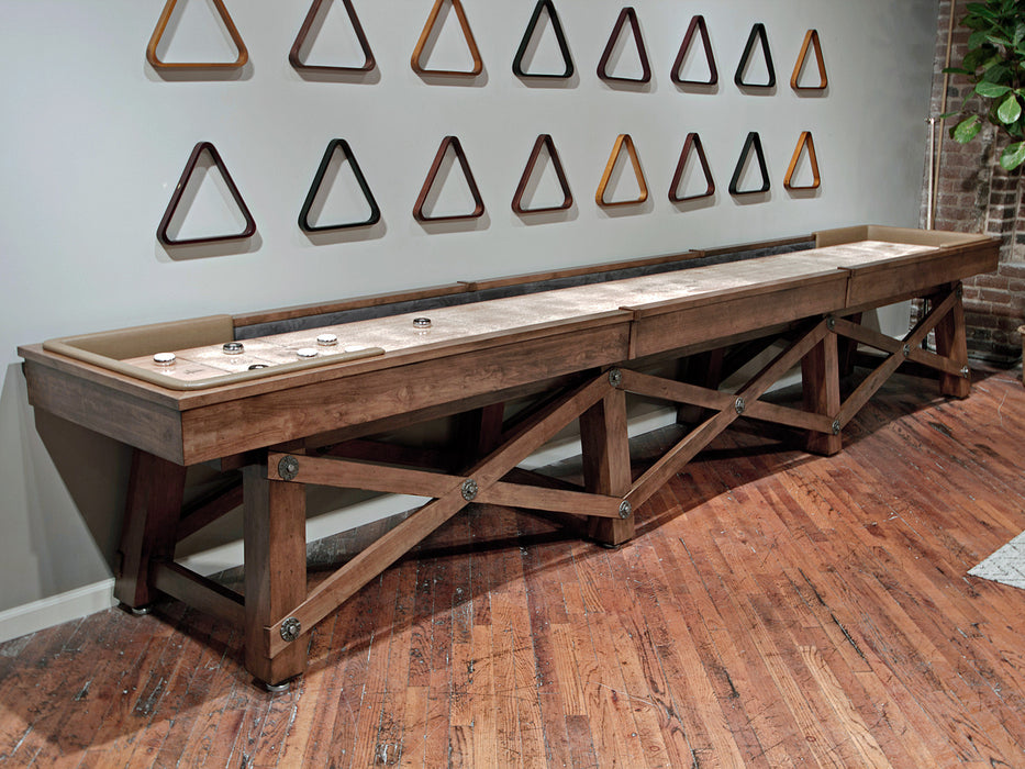 California House Loft shuffleboard table