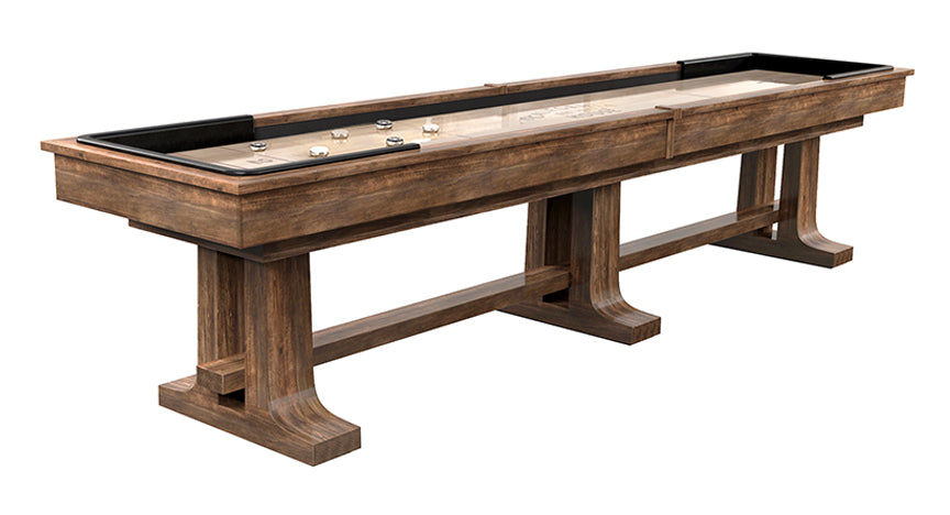 California House Atherton Shuffelboard Table Heritage finish