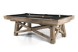 california house loft pool table stock mystic oak