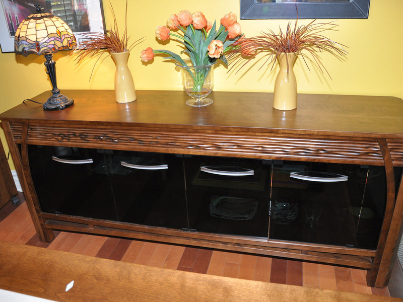 La Condo Lotus Dining Pool Table side board 2