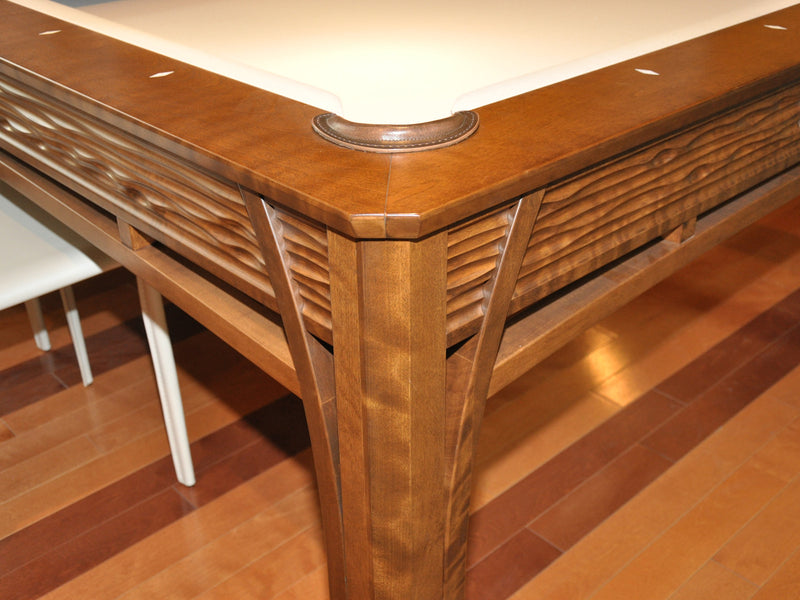 La Condo Lotus Dining Pool Table corner detail