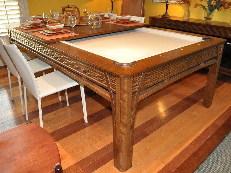 La Condo Lotus Dining Pool Table showroom
