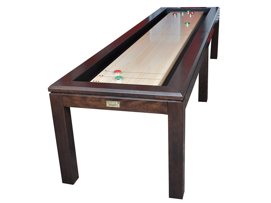 la condo shuffleboard table victorian maple on birch