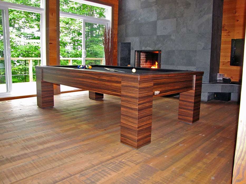 rhino pool table upgraded autumn leaves finish