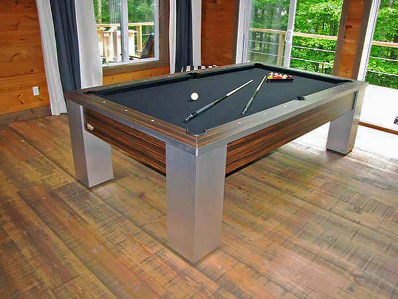 canada billiard rhino pool table steel room