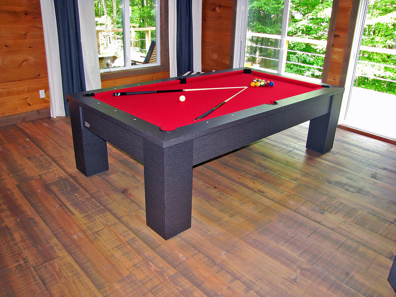 rhino pool table standard west latitude finish