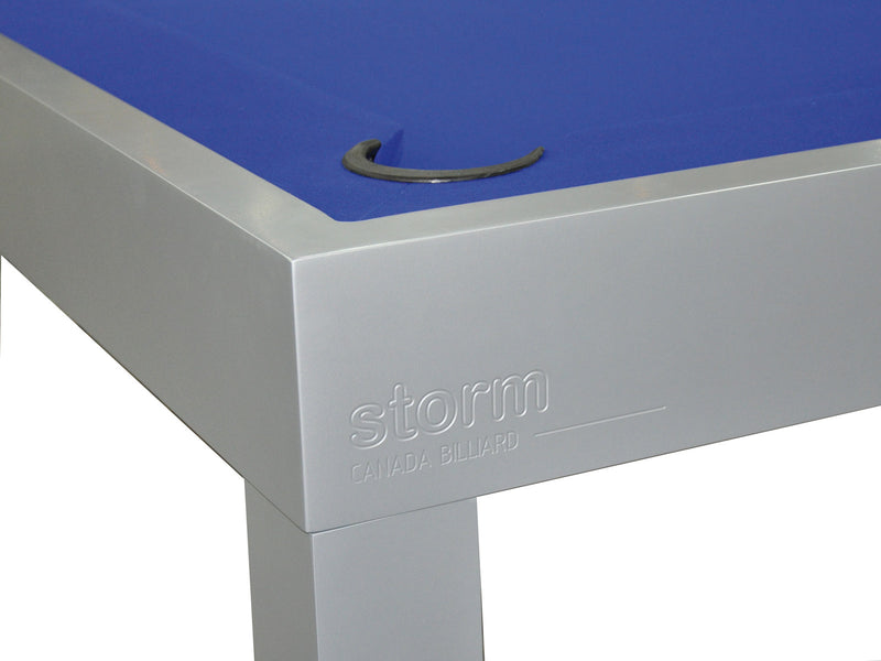storm outdoor pool table detail
