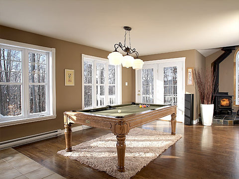 Canada Billiard La Condo Colonial Dining Pool Table