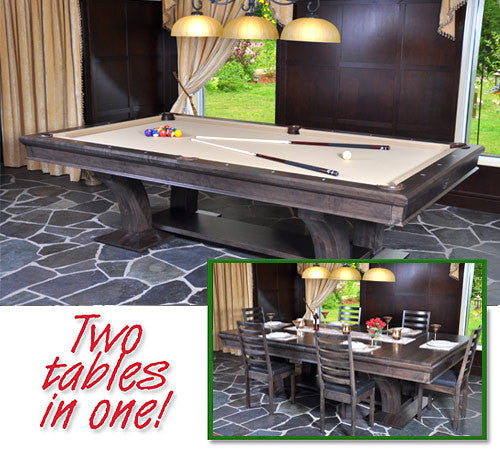 La Condo Devine Dining Pool Table stock