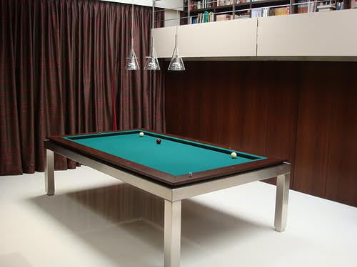 Canada Billard La Condo Stainless Dining Pool Table carom
