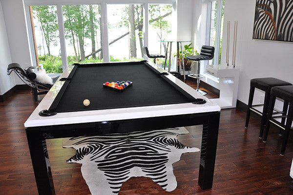 La Condo Evolution dining pool table room 2