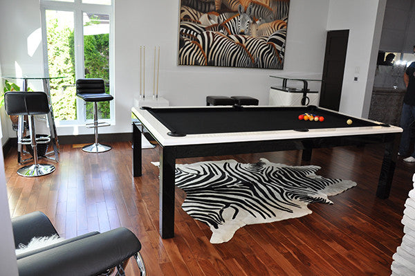 La Condo Evolution dining pool table leg