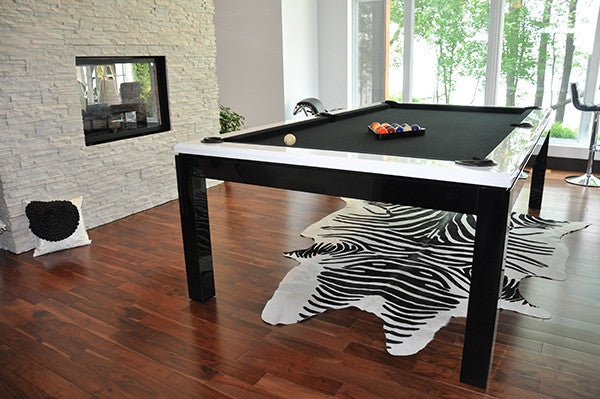 La Condo Evolution dining pool table room