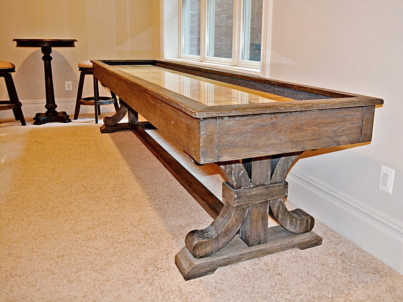 presidential carmel shuffleboard table room
