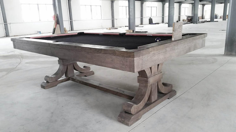 carmel pool table new finish for 2016