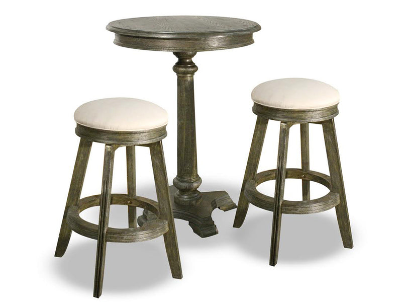 Carmel pub table and two stools