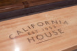 California House Atherton Shuffelboard Table play surface