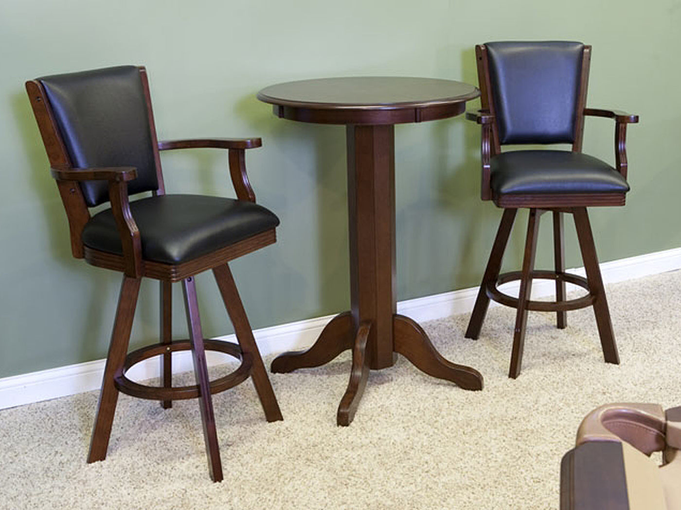Cl bailey bar stool warm chestnut stock