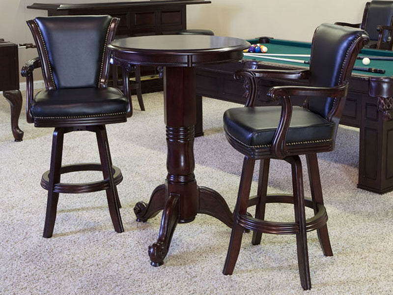 CL Bailey winslow bar stool traditional mahogany stock